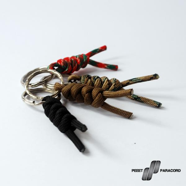 Spine kulcstartó - Paracord 550 kulcstartó, hogy a karkötődhöz illő dísz virítson a kulcsaid mellett is!